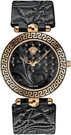 Shop the latest collection of Versace Women's Vanitas Rose Gold Ion-Plated Coated Stainless Steel Interchangeable Straps Diamond Watch from the most popular stores - all in one place. Versace Vanitas, Ring Armband, Casio Protrek, Jewelry Accessories, Fashion Accessories, Pink Watch, Patek Philippe, Beautiful Watches, Luxury Watches