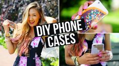 """@aleenasalmon I saw you liked diy phone case pin, I think you will like this: YAY IPHONE EVERYTHING!! I figured if I was going to do DIY cases, I might as well do an updated """"what's on my iphone"""" since you guys have been asking for a new one forevs!!"""