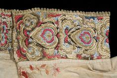 silketråd til broderi - Google-søk Folk Costume, Costumes, Head Pieces, Bridal Crown, Aprons, Norway, Wedding Jewelry, Needlework, Reusable Tote Bags
