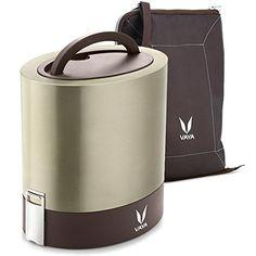 Vaya Tyffyn 1000 ml Insulated Lunch Box w.Bag Mat - Stain...