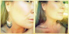 i want!  sarah morton-erasmus: chevron earrings