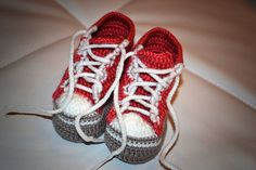 Too Cute!!!  Crochet patterns PDF  Baby Boy Booties  Pattern  by Childhaps, $2.50