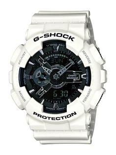 Nouveau modèle Garish Color blanc et noir #Gshock #casion #GarishColor