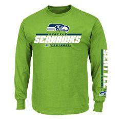 NFL Mens Seattle Seahawks Long Sleeve T-shirt  Shopko Team Gear 252e7b06f