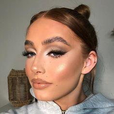 Flawless Makeup, Glam Makeup, Beauty Makeup, Hair Makeup, Hair Beauty, Eye Makeup, Simple Makeup Looks, Creative Makeup Looks, Pretty Makeup