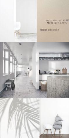 MONDAY CRUSH | Raw minimalism  #interiors àminimalinteriors #minimalism #concrete #natural #wood #raw