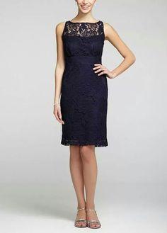 Sexy lace sleeveless short dresses