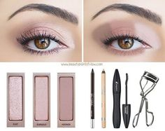 'Barely Naked' tutorial using Dust, Burnout & Nooner from the Naked 3 palette.