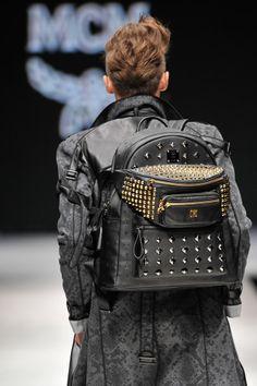 #Backpack In Style - MCM macht den #Rucksack zum Fashion-Must-Have.