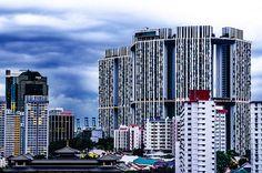 Singapore-modern skyscrapers everywhere