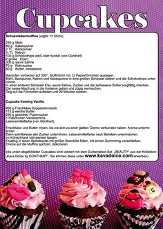 Cupcake Rezept