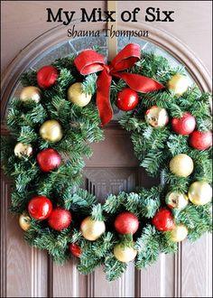 Cheap DIY Wreath