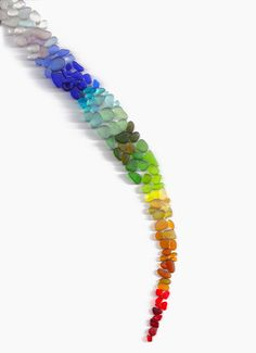 #PANDORAsummercontest Sea-Glass by Chloe S., via 500px  #rainbow