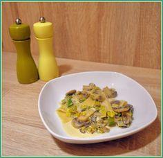 We love our kitchen: Hubovo-pórové cestoviny  Ahoj! AK nemáte veľa času...