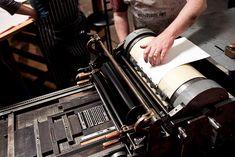 Letterpress printing on a Vandercook press- priceless! #LoveLetterpress