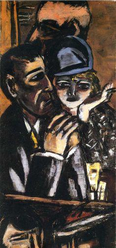 Max Beckmann (1884-1950) In 1933 ontnamen de nazi's hem deze betrekking en werd hem een tentoonstellingsverbod opgelegd. Beckmann keerde vervolgens vanuit Frankfurt terug naar Berlijn. In 1937 werd zijn werk getoond op de beruchte tentoonstelling van Entartete Kunst. Hij ontvluchtte Duitsland en vestigde zich in Amsterdam (1937-1947). In Amsterdam kreeg hij niet veel erkenning, maar was hij wel productief.