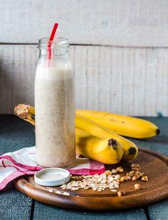 Desayuno rápido y nutritivo, prueba este delicioso licuado de plátano con amaranto.