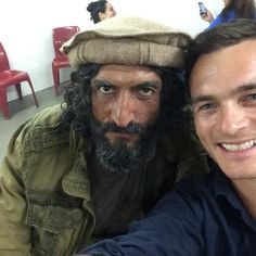 Quinn & Haqqani selfie??   #Homeland   Rupert Friend on WhoSay