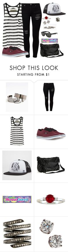 """Do you think about me now and then?"" by rocketsheep ❤ liked on Polyvore featuring Gestuz, Ray-Ban, Enza Costa, Vans, Neff, Aéropostale, Lynn Ban and Tiffany & Co."