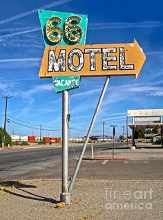 Vintage Desert Motel Sign