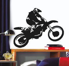 MOTOCROSS http://www.myvinilo.com/vinilos-pop/motocross.html Vinilos decorativos, hogar, decoración, interiores, pared, diseño, grafica, wall decals, stickers, decoration, design, graphics, arte, art, race, carrera, coches, motos, car, auto, grand prix.