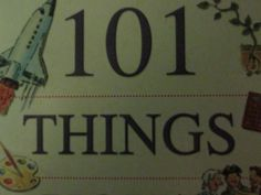 101 Things you should know #book cover