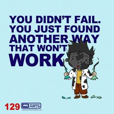 """129: Ahmad Says """"You didn't fail. You just found another way that won't work.""""  deenify.com"""
