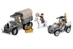 LEGO 7622-1: Indiana Jones Raiders of the Lost Ark Race for the Stolen Treasure