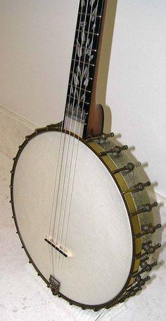 1890's Washburn Model 422 5 string banjo