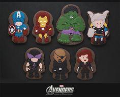 The Mightiest Cookies, 22 Avengers Gingerbread Cookies