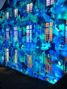 Videomapping by Ecole des Gobelins