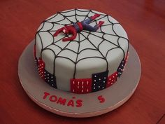 torta de spiderman fotos - Buscar con Google