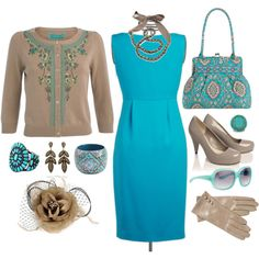 brown dress outfits - Google Search