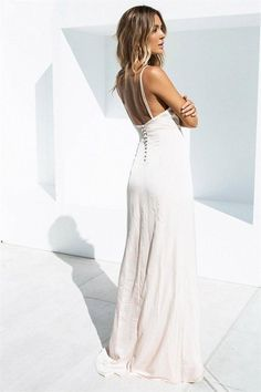White Maxi Beach Dress, White Maxi Dresses, Nice Dresses, White Engagement Dresses, Dresses For Engagement Pictures, Different Wedding Dresses, Wedding Dresses For Sale, Blush Bridesmaid Dresses, Blush Dresses