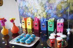 Design Improvised: Stella's Sesame Street Birthday Party