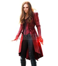 Captain America Civil War Avengers Scarlet Witch Wanda Outfit Cosplay Costume, made in your own measurements. - Visit to grab an amazing super hero shirt now on sale! Scarlet Witch Costume, Red Costume, Cosplay Costumes, Cosplay Ideas, Costume Ideas, Diy Costumes, Halloween Costumes, Captain America Halloween Costume, Avengers Costumes