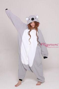 Koala Kigurumi Onesie - 4kigurumi.com  http://www.4kigurumi.com/adult-animal-onesie-koala-kigurumi-pajamas