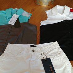 Trio pronto para a primavera: shorts branco metalizado da Cori junto com camisa Gloria Coelho. Você escolhe a que mais gosta no dia! Tem tudo isso e muito mais em www.malumodas.com e aproveita a #tendencia dos metalizados não só nos sapatos mas nos detalhes também. http://ift.tt/29Ss7Qh #moda #campinas #grife #modabrasileira