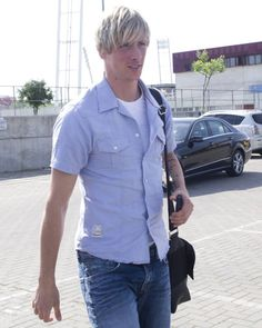 "Fernando Torres - ""There was something in the air that night, the stars were bright, Fernando..."""