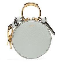 Chloé Round-mini leather coin purse (€275) via Polyvore featuring bags und wallets