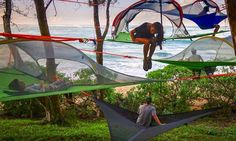 10 most crazy tents you can actually buy.   Would it not be stunning to stay for a night in one of them