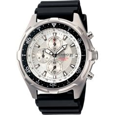 Analog Chrono Resin Band Watch Color: Silver-Tone. Gender: Male. Age Group: Adult.