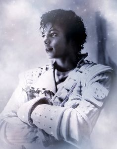 Captain Eo digital art. Michael Jackson.