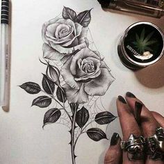 Rose tattoo with an edge will be amazing with roots coming from out the skin! Rose tattoo with an edge will be amazing with roots coming from out the skin! Hip Thigh Tattoos, Side Tattoos, Trendy Tattoos, Body Art Tattoos, Sleeve Tattoos, Tattoos For Women, Cool Tattoos, Tattoo Side, Wrist Tattoos