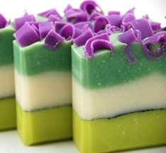 Something i'll be looking into shortly.. Homemade Soaps <3