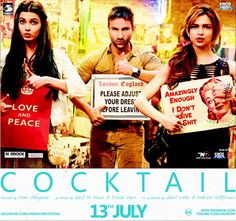 Cocktail movie poster.