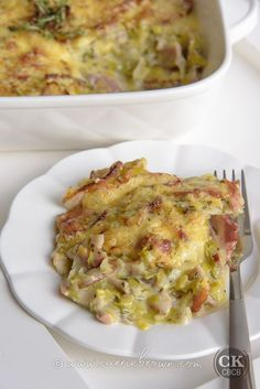 This KETO Bacon Leek Melt is one delicious pile of food that you can whip up in a heartbeat for an easy, one-pan, week-day dinner.