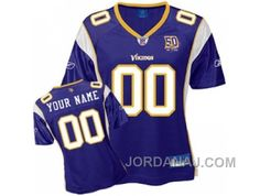 http://www.jordanaj.com/customized-minnesota-vikings-jersey-team-color-50th-anniversary-patch-football.html CUSTOMIZED MINNESOTA VIKINGS JERSEY TEAM COLOR 50TH ANNIVERSARY PATCH FOOTBALL Only $60.00 , Free Shipping!