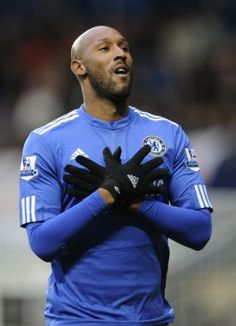 Striker Nicolas Anelka has given the broadest hint yet that he is ready to pledge his future to Chelsea. Chelsea are understood to have re-opened talks with the striker. Nicolas Anelka, Stamford Bridge, Chelsea Fc, Sport, Football Players, My Boys, Soccer, Batman, France