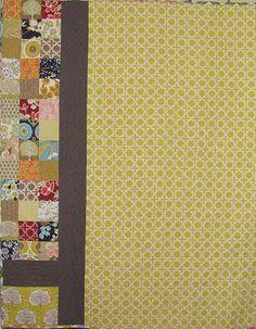 Quilting: Quilt Back - BOM 2012 Backing A Quilt, Quilt Border, Quilt Blocks, Blue Quilts, Scrappy Quilts, Quilt Binding, Crochet Quilt, Felicia, Large Prints